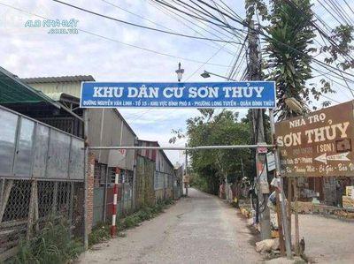 Bán nền đường số 4 KDC Sơn Thủy, lộ ô tô