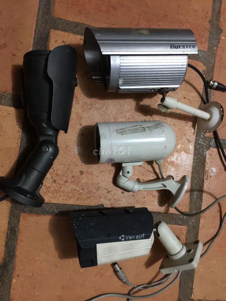 Bán camera và đầu thu cũ sài bình thường