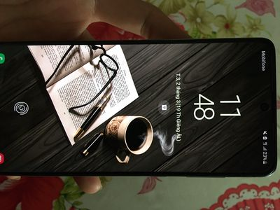 Samsung a71 bạc