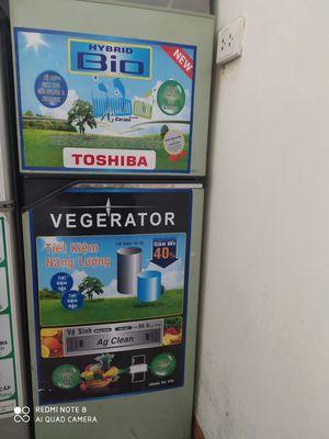 Thanh lí tủ lạnh toshiba 150l không đóng tuyết