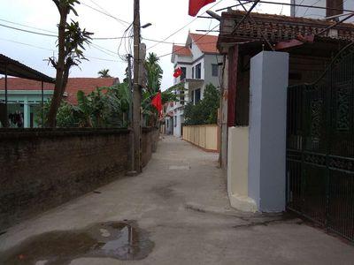 Đất ở sổ đỏ xã Tân lập huyện đan Phượng Hà Nội