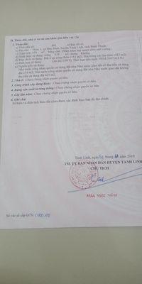 Đất thổ cư Đức Bình, Tánh Linh, Bình Thuận