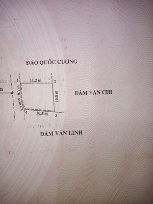 Bán đất thôn Đền xã Lâm động, cách đường 203 50m