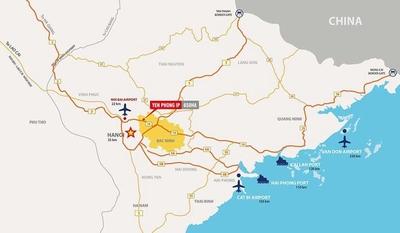 Đất Khu công nghiệp Yên Phong - Bắc Ninh 12500m²