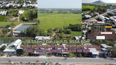 Đất Thành phố Châu Đốc 16.554m²