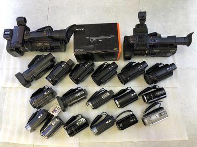 Máy quay Sony-Panasonic các loại full Hd 4k.