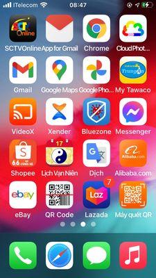 Dư dùng cần bán điện thoại iPhone 6 như hình