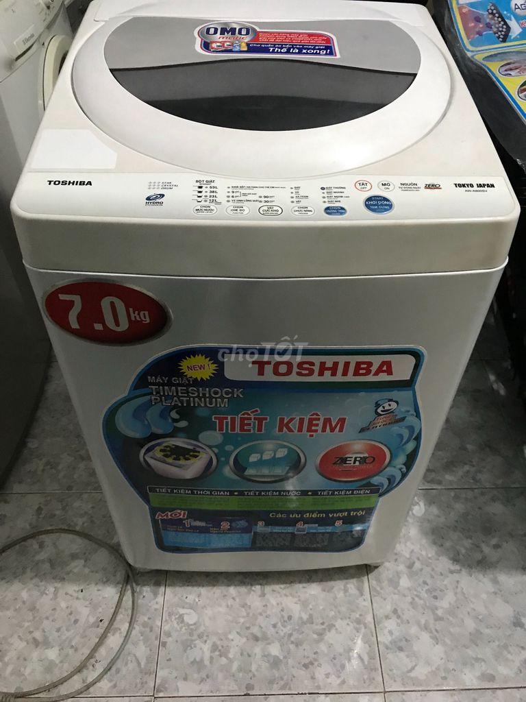 Máy giặt toshiba 7kg đời mới bao lắp đặt