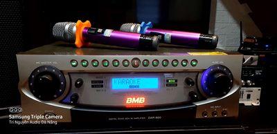 Amply liền Vang BMB DAR800,Karaoke VIP Gia đình👍
