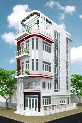 Bán Nhà 2MT Hẻm 6m, 1Trệt, 1Lửng, 2Lầu, Giá 4,8 Tỷ