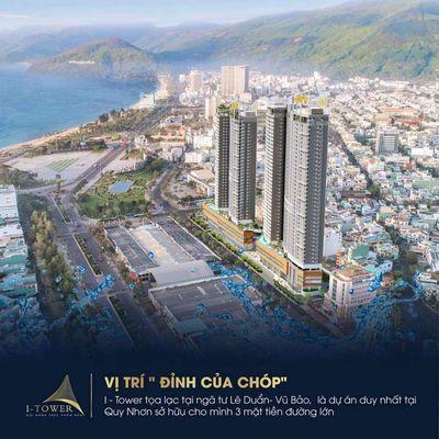 Bán Căn Hộ I Tower Quy Nhơn - Giá 1ty7