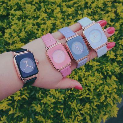 Đồng hồ nữ Guou vuông
