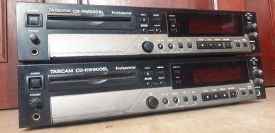DAC CD TASCAM CD-RW900SL. 24 BIT  phòng thu.