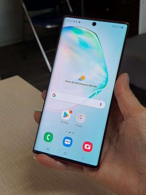 Samsung Galaxy Note 10-5G Đỏ máy hàn đủ phụ kiện