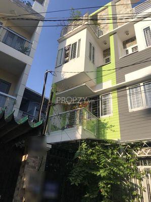 Nhà HXH thông đường Nguyễn Kiệm, xây mới 4 tấm