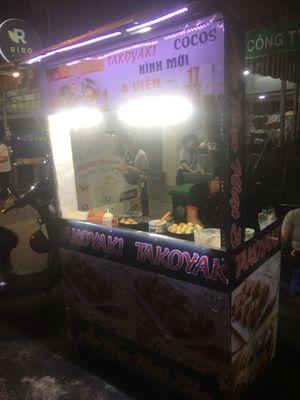 Cần sang lại hệ thống bánh takoyaki