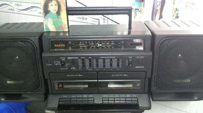 Sanyo mw940k radio cassette