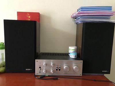 Bán bộ Amply Pioneer 6300 và loa Onkyo M55ii
