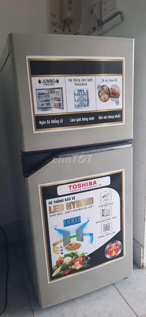 0946155575 - Tủ 120L Toshiba đẹp y hình giá Sv có bảo hành 06 T