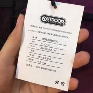 0775473982 - túi Đeo chéo Outdoor Japan- Màu tím đậm new