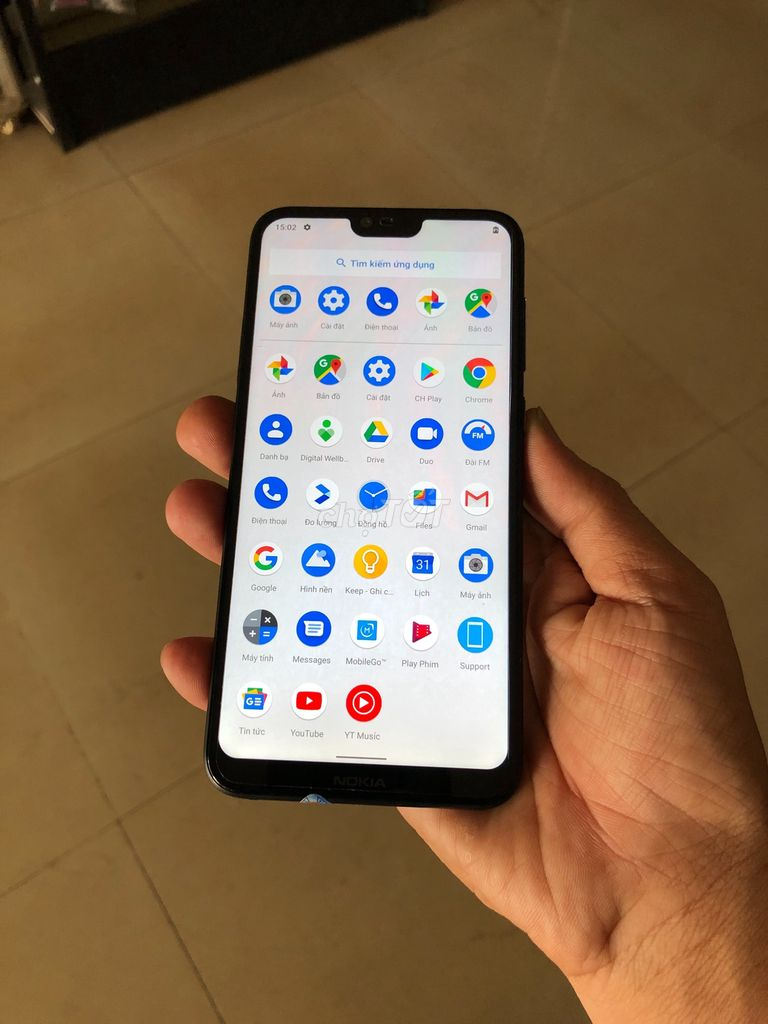 0943101653 - Nokia thông minh 6.1 Plus 64 GB đen