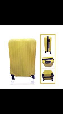 vali du lịch màu vàng chanh, size 28( cực đại)