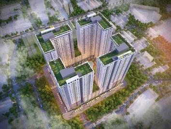 Giỏ hàng giá gốc chủ đầu tư Bcons Garden 43m² 2PN