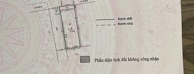 Nhà mặt tiền đường Hồng bàng, nhà 1 trệt 1 lầu