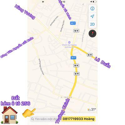 Đất thổ cư 8x32m hẻm ô tô 256 Trường Chinh