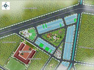 Đất sổ đỏ 100m2 (5x20) KCN Yên Phong, Bắc Ninh