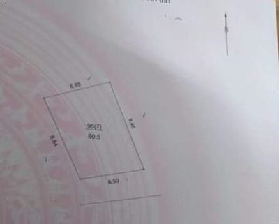 đất Trương định ngõ 3 gác 61m2 mt 6.5m giá 4.3 tỷ