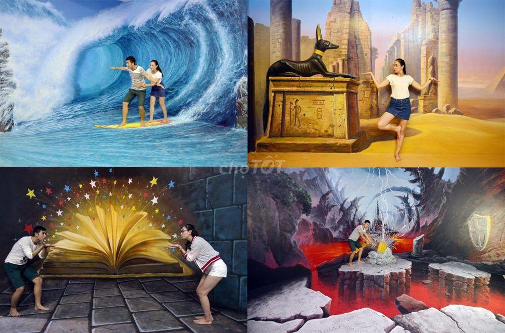 Vé bảo tàng tranh 3D ART Đà Nẵng