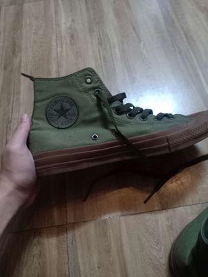 Giày converse xanh rêu VNXK