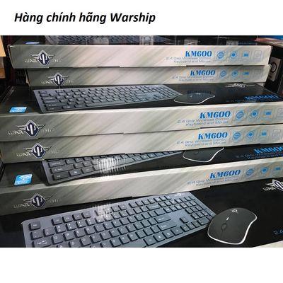 Bộ phím chuột không dây Warship KM600 cho Smart TV