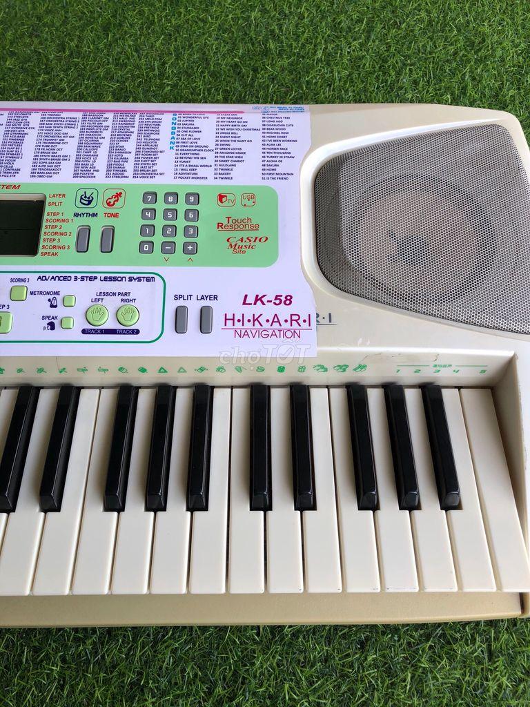 0901338292 - Cần thanh lý đàn Organ Casio LK-58