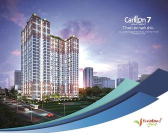 Bán căn hộ Car7 2pn,2wc 71m2 Tầng cao view đẹp