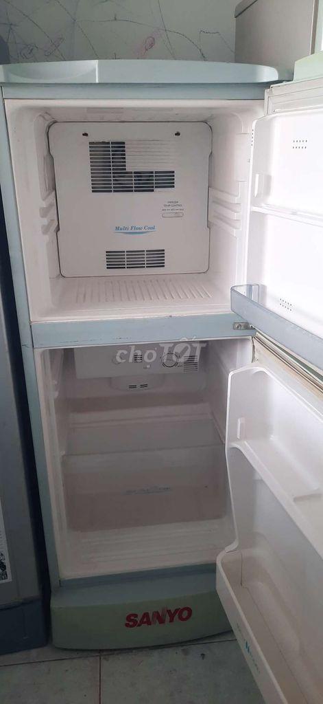 0946155575 - Tủ 119L Sanyo block gaz zin đẹp có bảo hành 06T