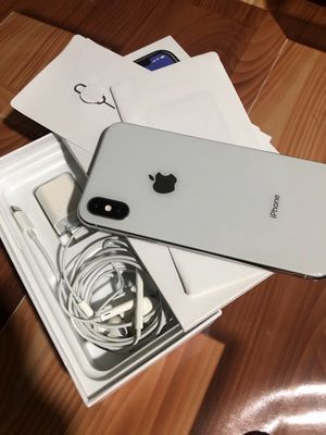 Apple iPhone X 256 GB trắng Mã VN hết bh mới 98%