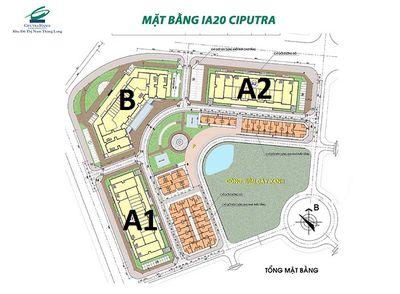 Bán CC IA20 Ciputra 107.5m² 3pn. 19tr/m2