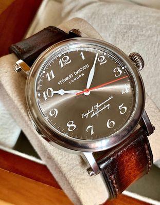 Stewart Dawson London Automatic Swiss Made Size 42