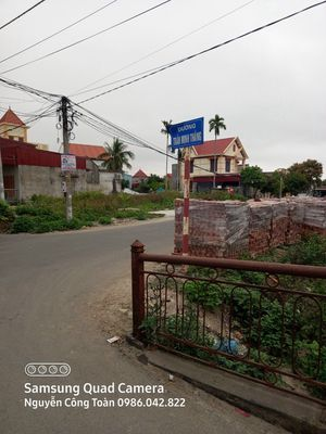 Bán mảnh đất mặt đường Trần Minh Thắng - Q Đồ Sơn