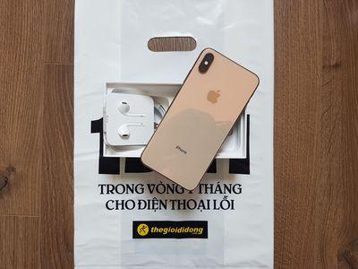 iPhone XS Max 256g vàng gold còn bh tgdd 5 tháng