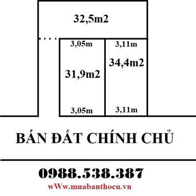 Bán 32m2 đất Xuân Phương ngõ thông kinh doanh nhỏ