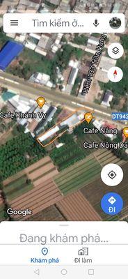 Đất sổ đỏ 780 mét vuông (12x65) đường dẫn cầu ông