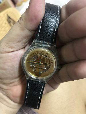 Đồng hồ máy cơ swatch kỷ niệm đại hội OLYMPIC