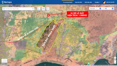 Bán lô đất cách sân bay 2km - DT 715 đi vào 250m