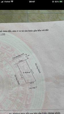 Đất Hỗ Đông- Hồng Phong - an dương 84m²