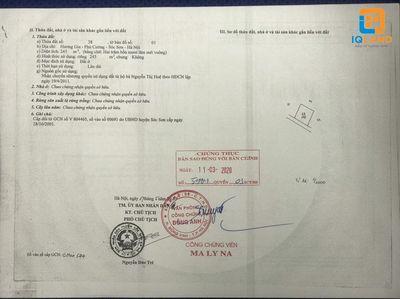Cần bán 60m2 Hương Gia, Phú Cường, Sóc Sơn HN