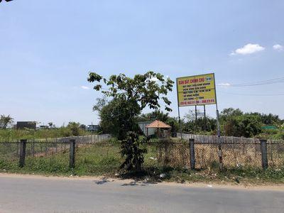 Đất mặt tiền chợ Phước Lại, Cần Giuộc 380tr/m