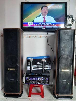 Dàn karaoke gia đình, yamaha còn bảo hành 18 tháng